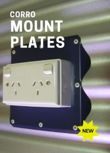 Mount Plates for Corrugated Profiles